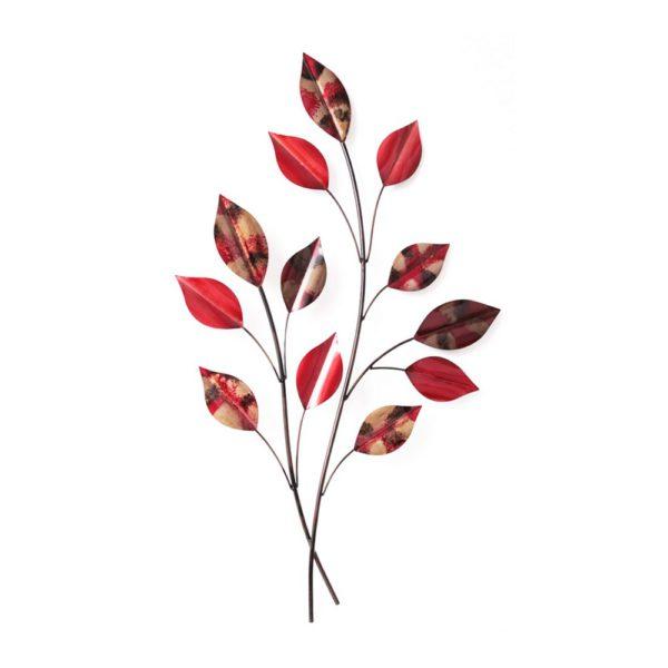 décoration en métal fleur