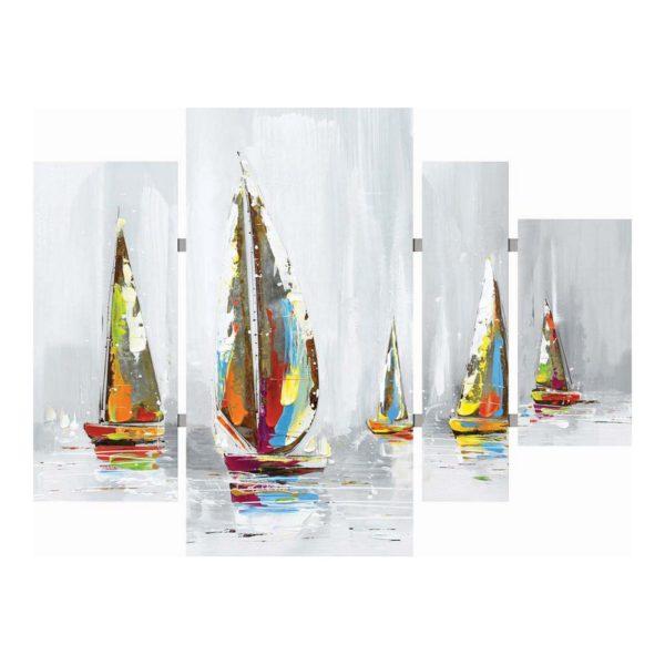 cadre bateaux grand format