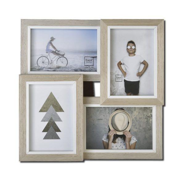 cadre bois 4 photos