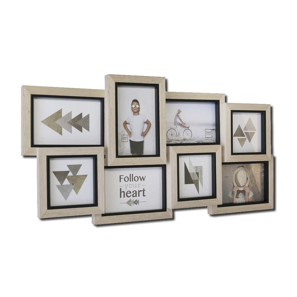 p le m le en bois pour 8 photos gamme p le m le ambiance. Black Bedroom Furniture Sets. Home Design Ideas