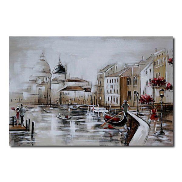 peinture paysage venise moderne