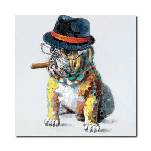 toile bulldog originale