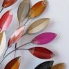 deco murale arbre colore metal
