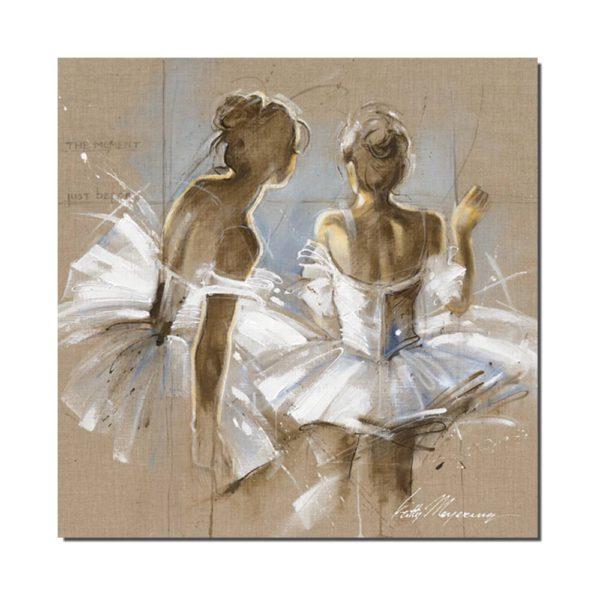 reproduction de peinture danseuse