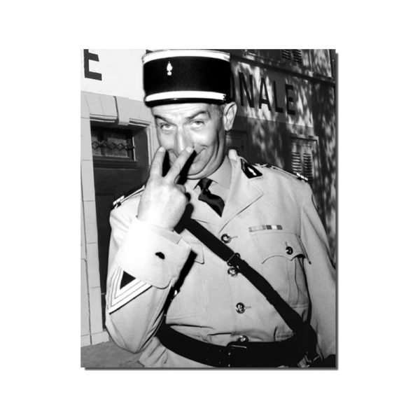 affiche gendarme de st tropez