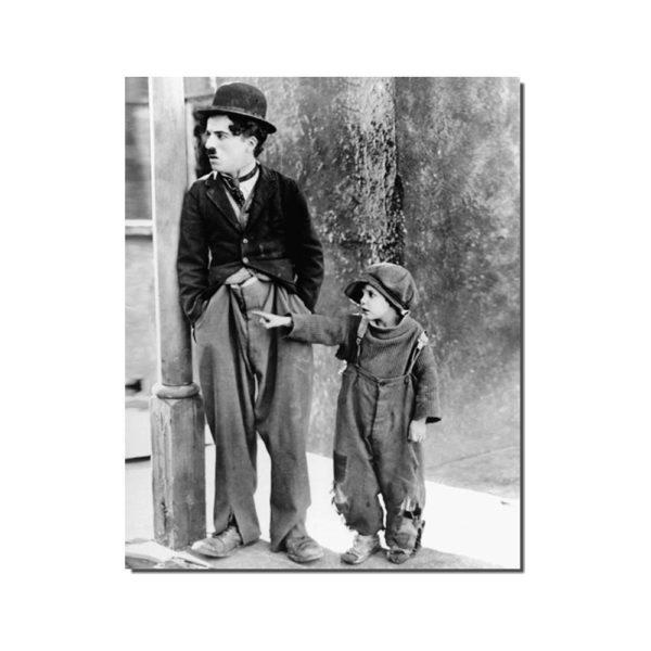 affiche film le kid avec Charlie Chaplin