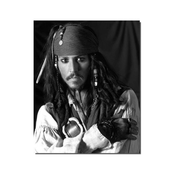 photo Johnny Depp Pirates des Caraïbes