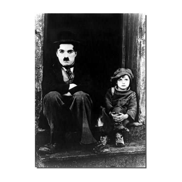 affiche Charlie Chaplin le kid