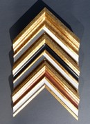cadre doré poiur toile quimper