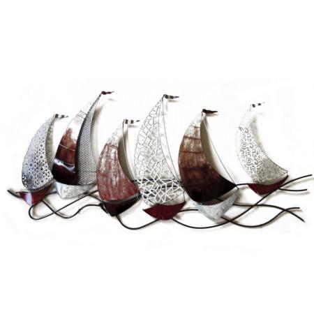 grande déco murale bateaux