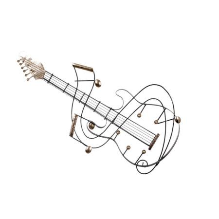 decoration en métal guitare