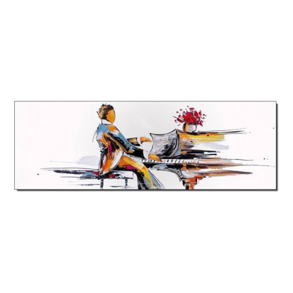 tableau pianiste musicien