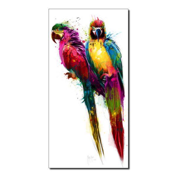 perroquets colores de patrice murciano