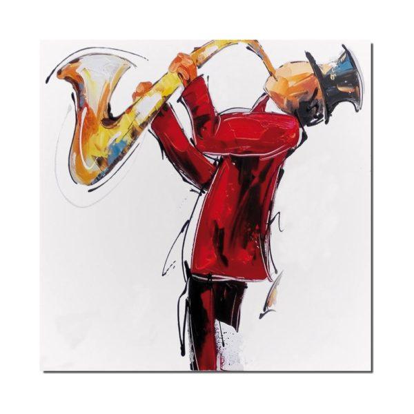 peinture jazzman