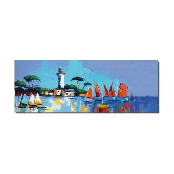 peinture paysage de mer bretagne