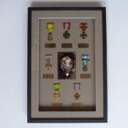 vitrine pour medailles
