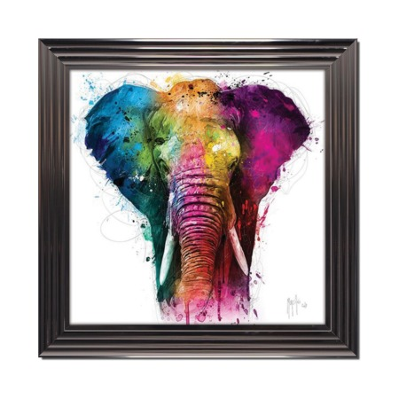 patrice murciano elephant africa pop tableau