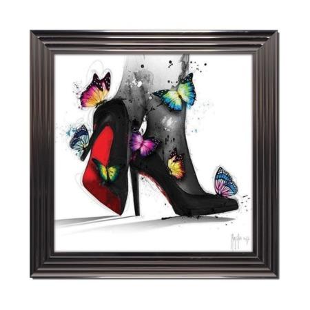 tableau de murciano pour elle chaussures