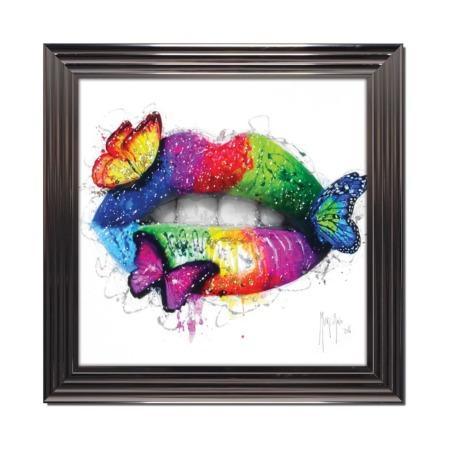 murciano tableau bouche butterfly kiss