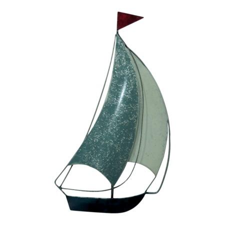 bateau en metal decoration