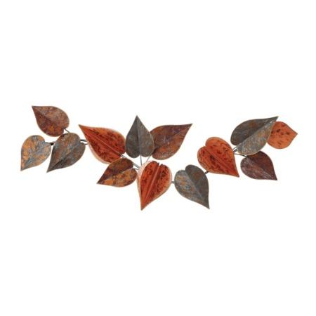 decoration murale florale couleur automne