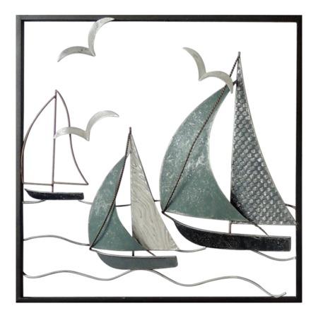 décoration voiliers gris bleu