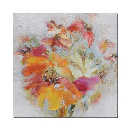 peinture fleurs du printemps