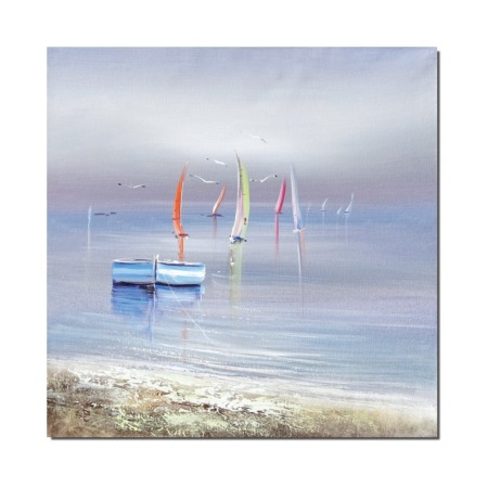 Peinture contemporaine bord de mer