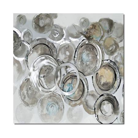 peinture abstraite avec cercle