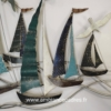 grande décoration bateaux en métal