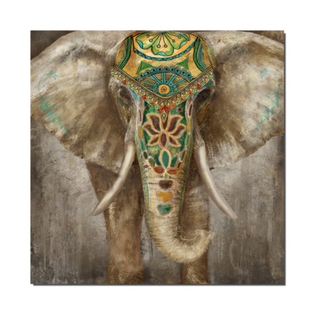 tableau elephant grand format