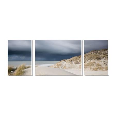 tableau plage et dune bord de mer bretagne