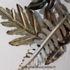 decoration en metal fougere
