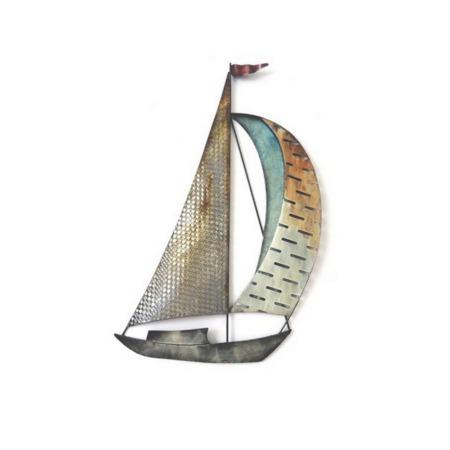 decoration bateau en metal