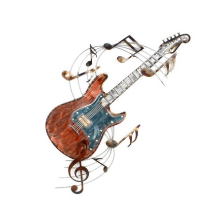deco murale guitare metal