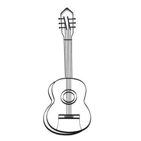deco murale guitare