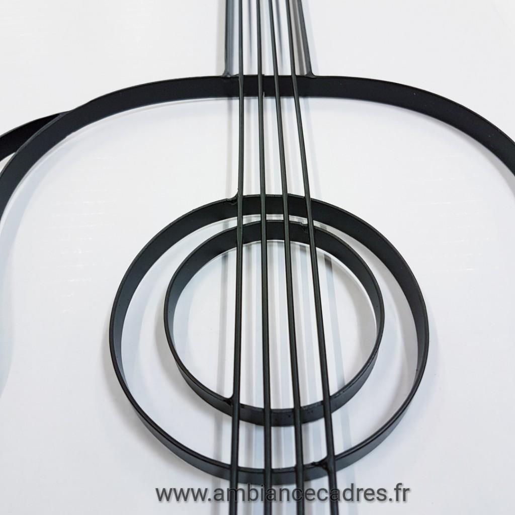 Deco Murale Guitare En Metal Ambiance Cadres Quimper