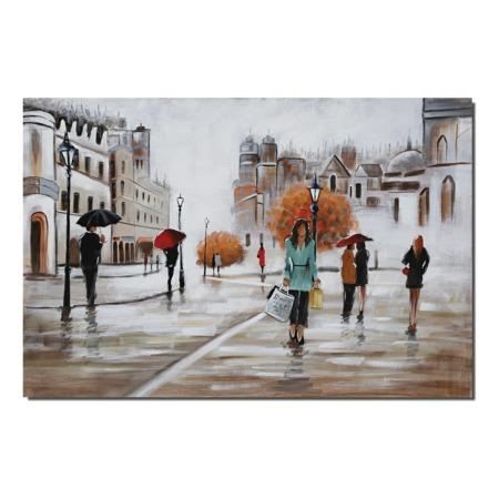 toile figurative urbaine