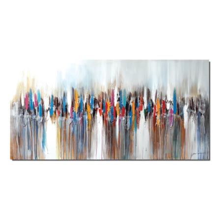 toile abstraite couleur grand format