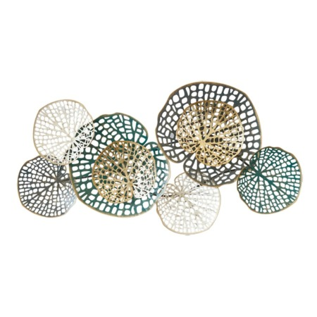 deco metal abstraite florale