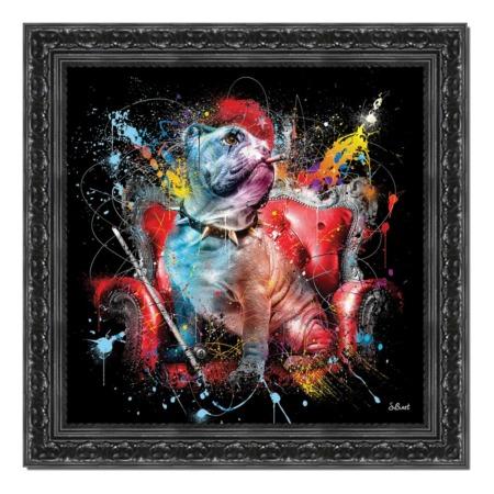 tableau bulldog anglais sylvain binet