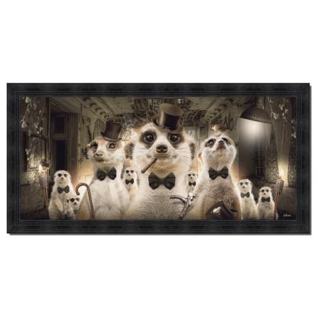 tableau famille suricate sylvain binet