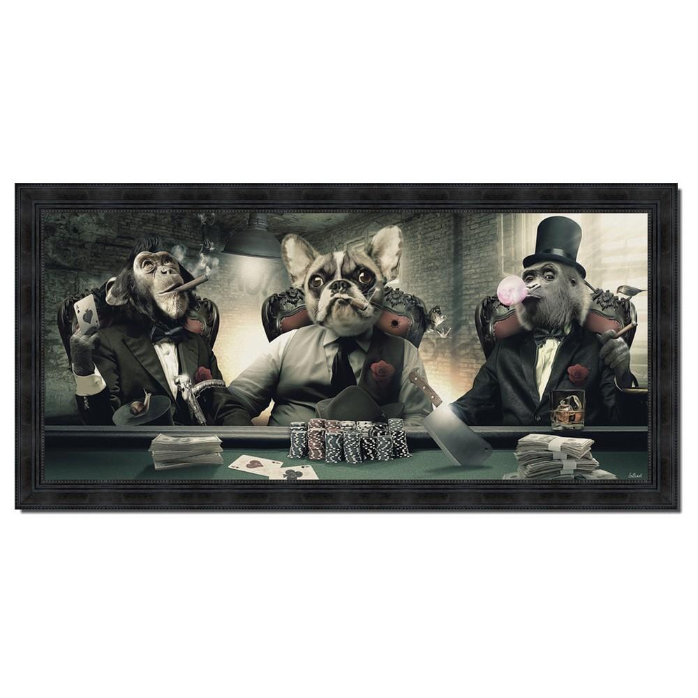 Ambiance Et Style Tableau tableau mafia sylvain binet poker