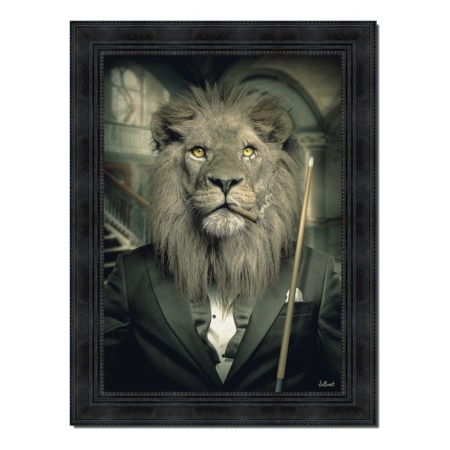 tableau lion mafia sylvain binet