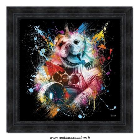 tableau sylvain binet bulldog cosmo