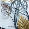 deco metal florale