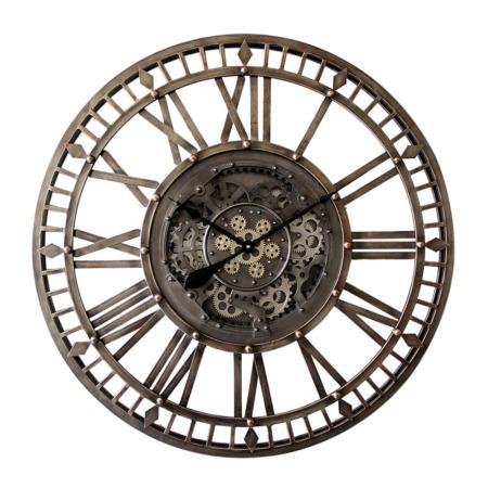grande horloge ronde industrielle de qualité