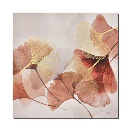 tableau feuilles de ginkgo