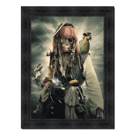 Tableau Monkey Sparrow de Sylvain Binet