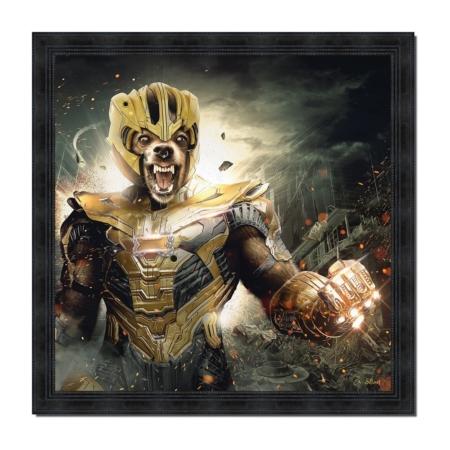Tableau Thanos S. Binet Super Héros